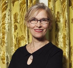 Bettine Vriesekoop tafeltennister, journalist, auteur  Foto: Friso Keuris