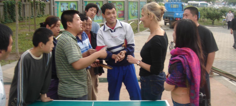 Tafeltennis enthousiasme in China